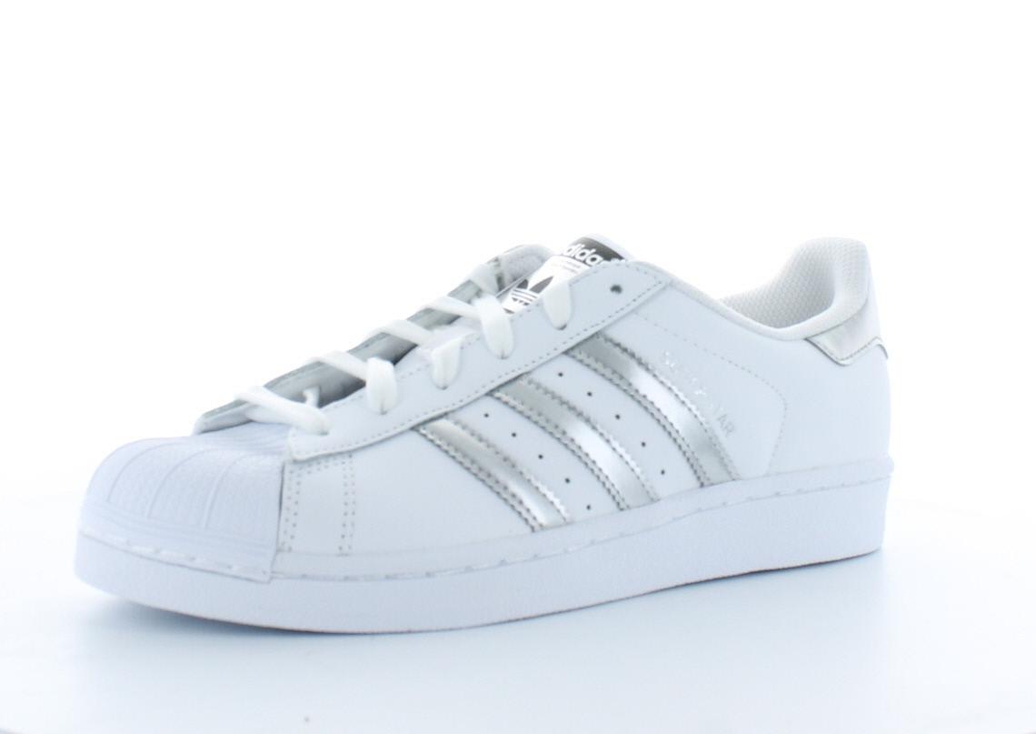 meilleures baskets 4362f 49c9f Adidas Superstar Argent Chaussures Dentelle Femme tQhCxsdr