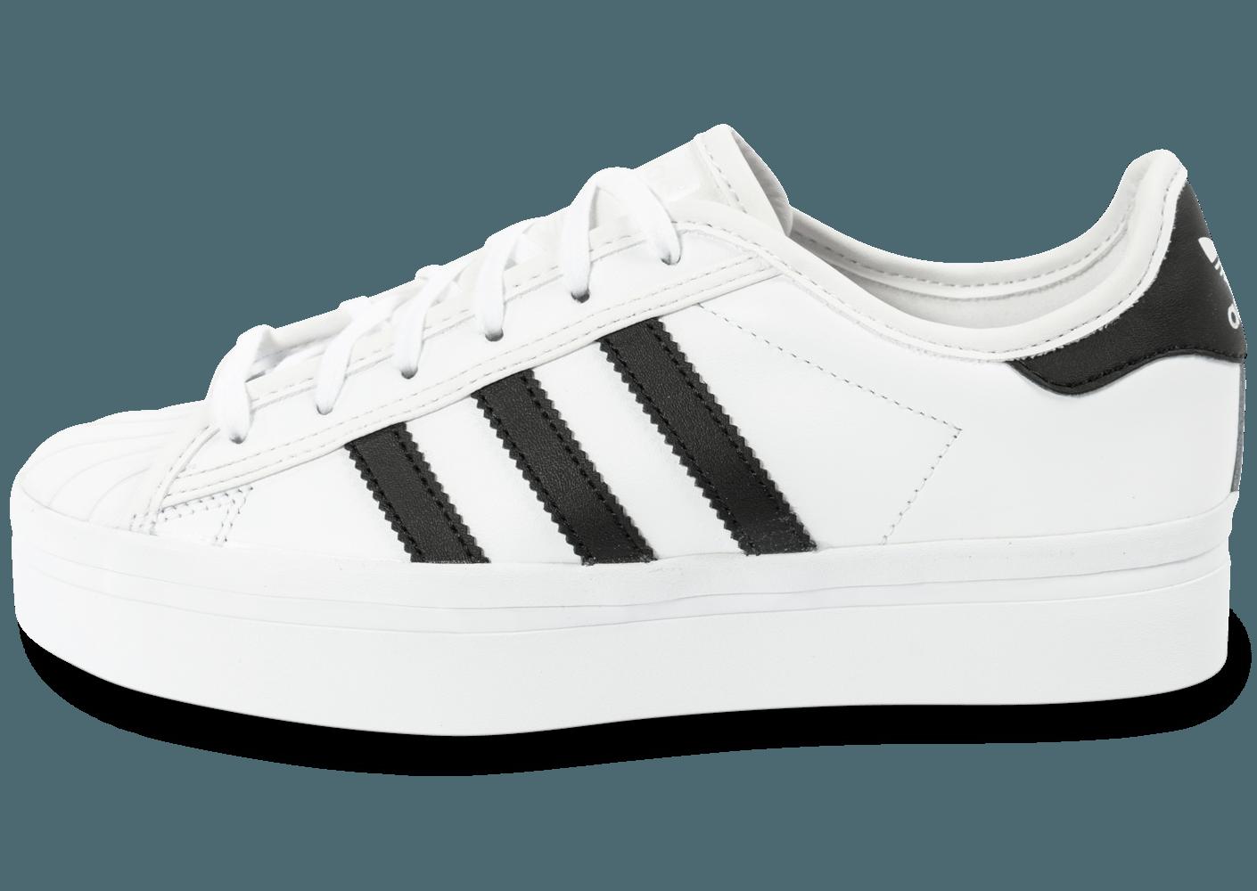 Adidas Superstar Blanche C35ajl4rq Plateforme Rize